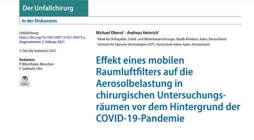 DEMA-airtech GmbH Luftfiltersysteme Raumluftreiniger Corona Viren Filter Luftreiniger Filtration Aersoloe